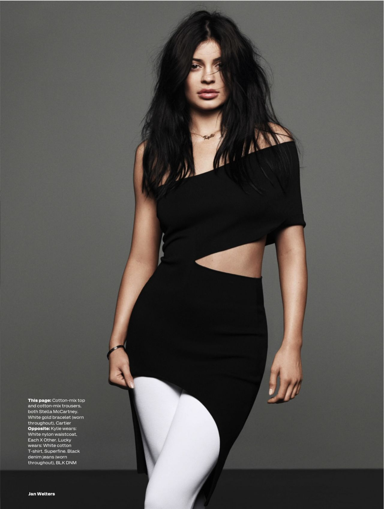 Kylie Jenner Depressed: ELLE Magazine UK February 2016 Issue