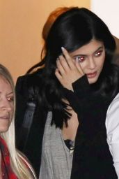 Kylie Jenner - Leaving the Studio in Los Angeles 1/26/2016