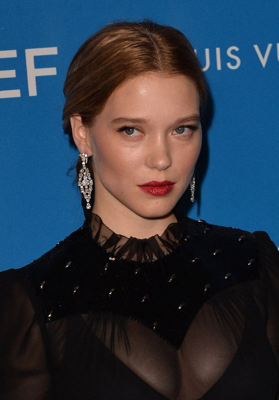 Léa Seydoux – 6th Biennial UNICEF Ball in Beverly Hills 1/12/2016