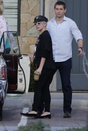 Lady Gaga - Out in Malibu, CA 1/3/2016