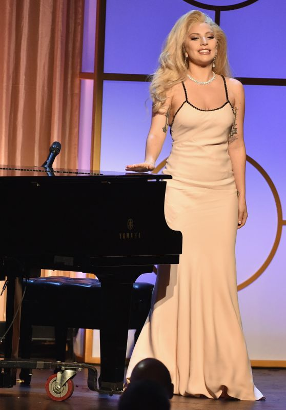 Lady Gaga Performs at 2016 Producers Guild of America Awards in Los Angeles, CA