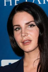 Lana Del Rey - Gala Benefiting Haitian Relief in Beverly Hills 1/9/2016