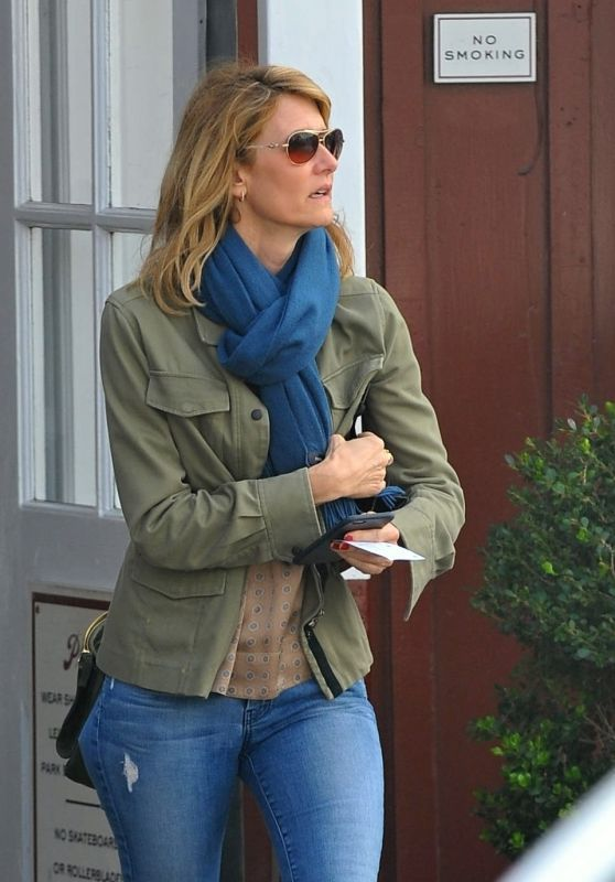 Laura Dern - Goes Out for Lunch in Brentwood, January 2016