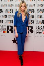 Laura Whitmore - Nominations for The Brit Awards 2016 at ITV Studios in London 1/14/2016