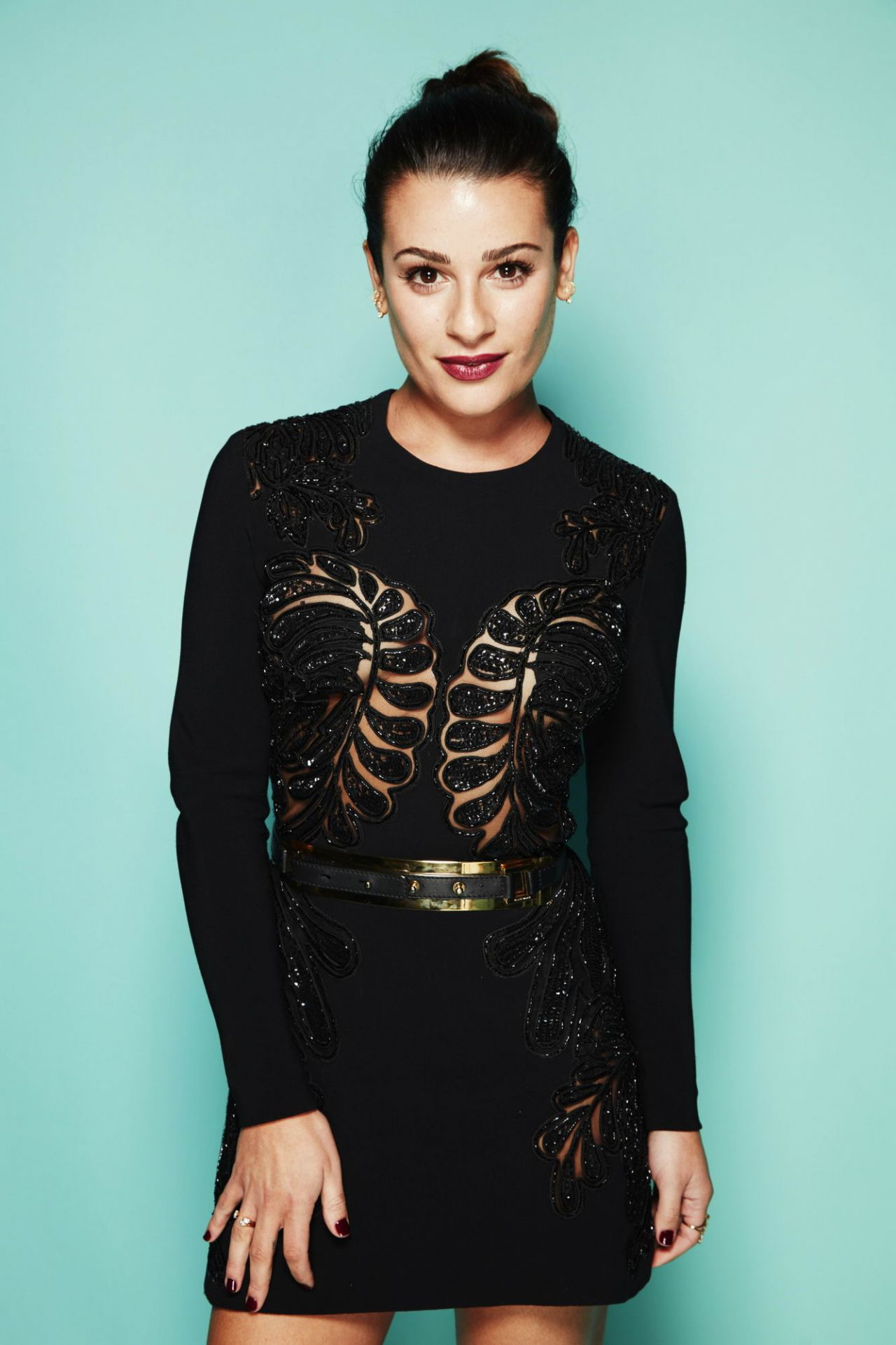 Lea Michele – People's Choice Awards 2016 Portrait Session