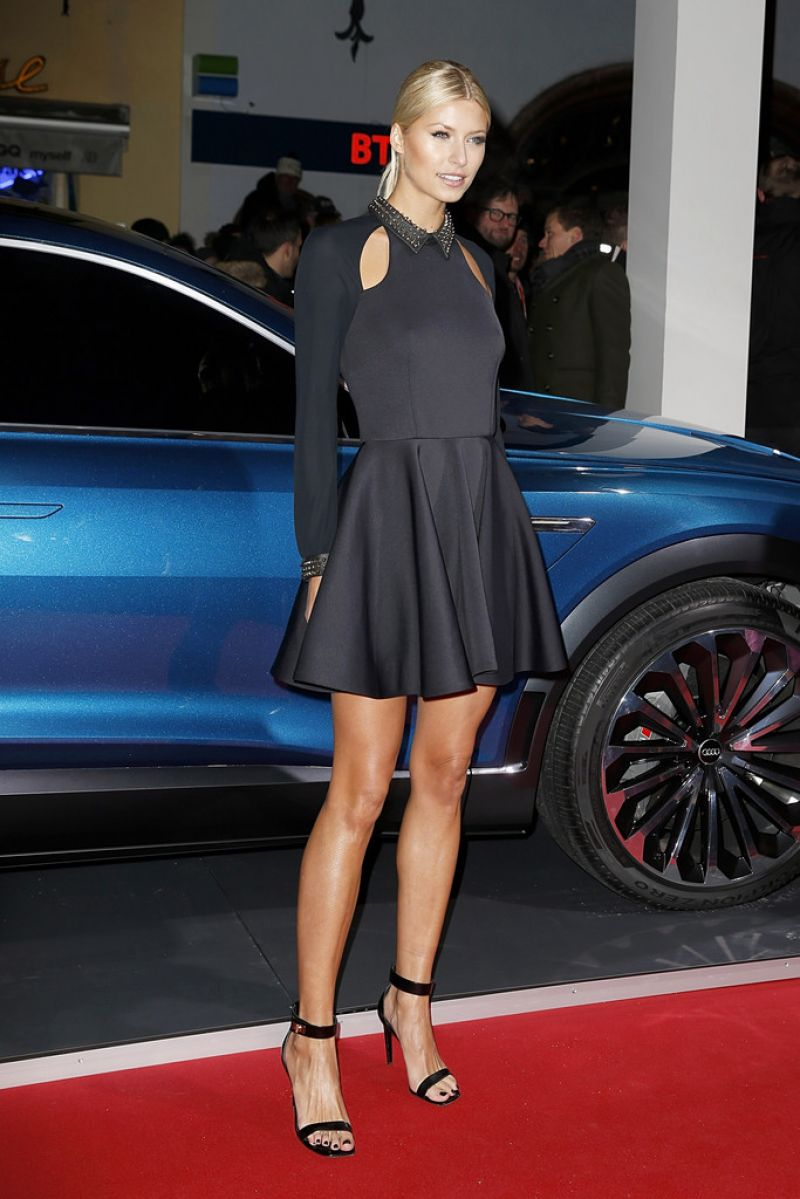 Lena Gercke Audi Night 2016 In Kitzbuehel In Austria