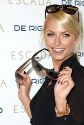 Lena Gercke - Posing for Sunglasses from Escada in Munich, Germany 1/16/2016