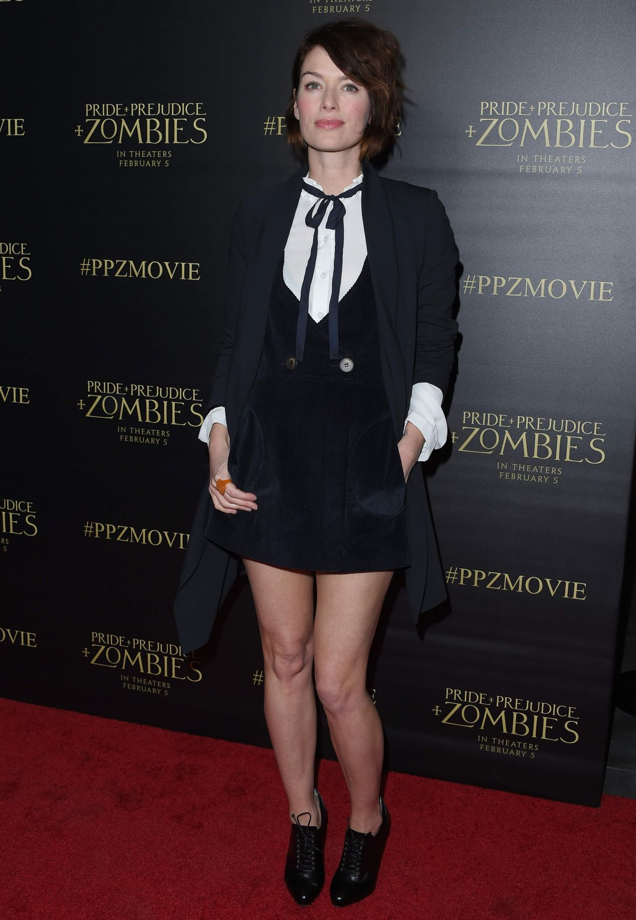 Lena Headey Pride And Prejudice And Zombies Premiere