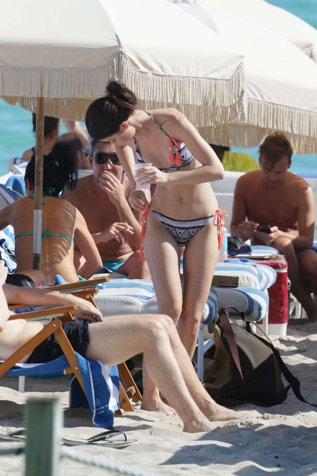 Lena Meyer Landrut Bikini Candids - Beach In Miami 1132016-5533
