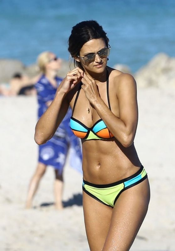 Leryn Franco in Bikini in Miami, January 2016