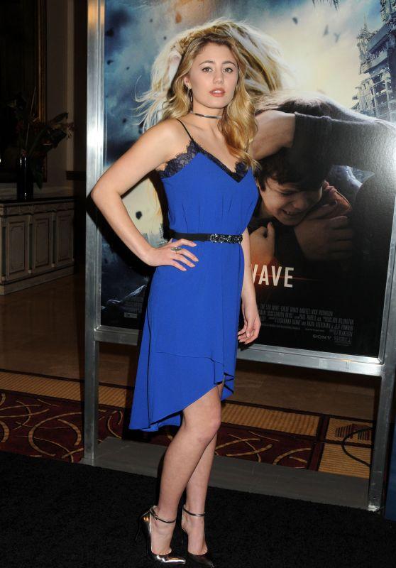 Lia Marie Johnson – 'The 5th Wave' Premiere in Los Angeles, CA