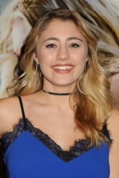 Lia Marie Johnson – 'The 5th Wave' Premiere in Los Angeles, CA