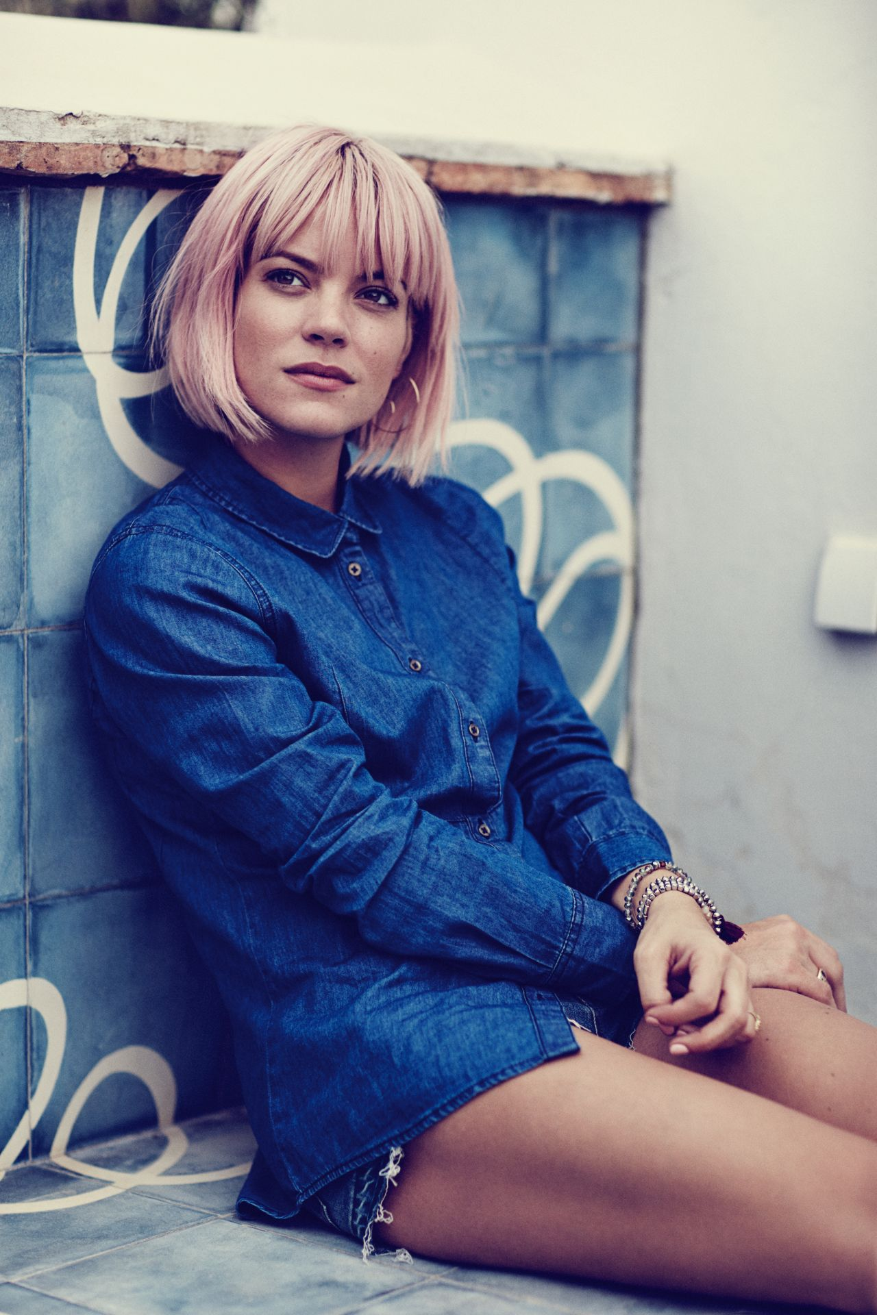 Lily Allen – Photo Shoot for Vero Moda Spring 2016