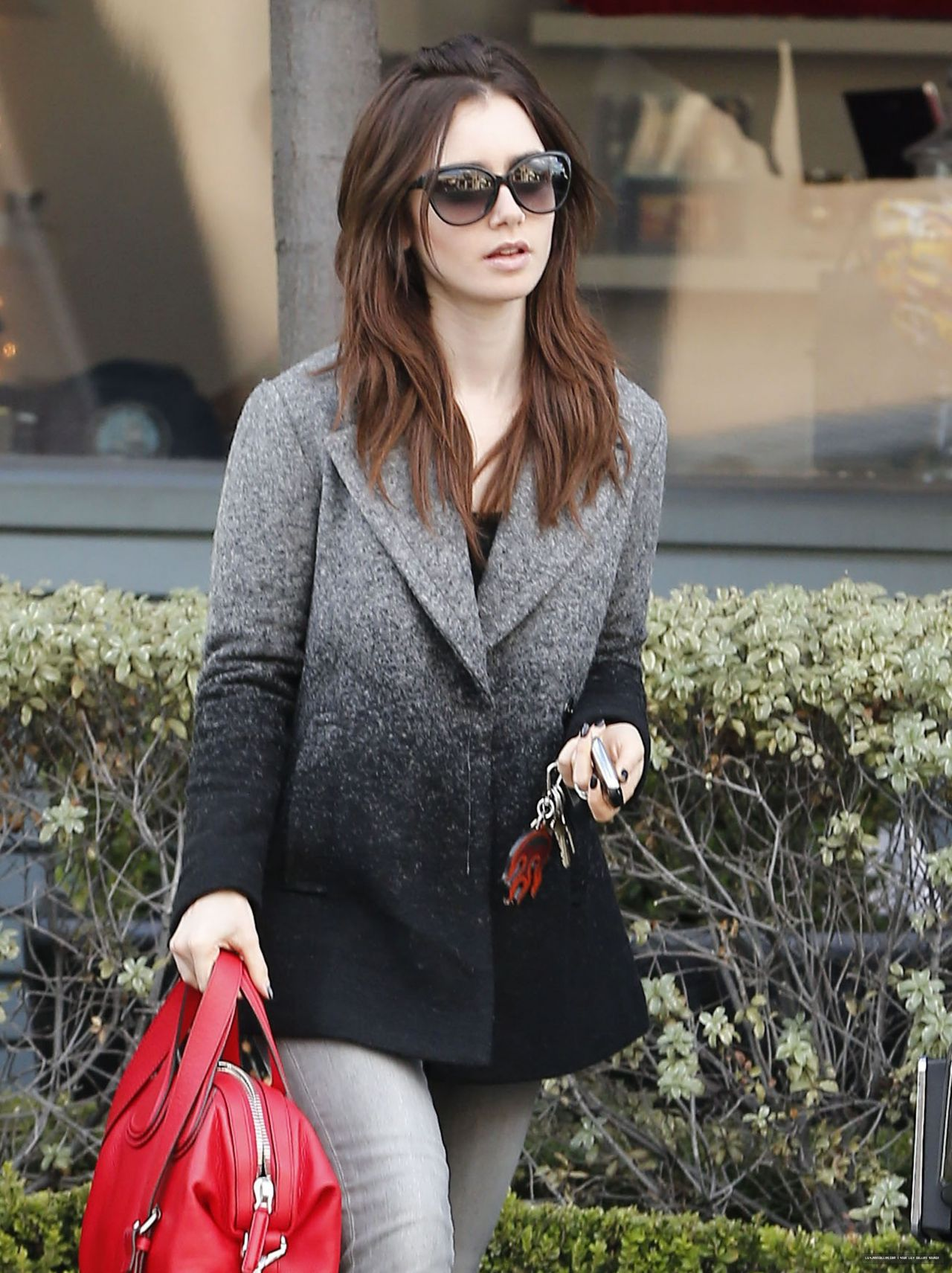 Lily Collins Casual St...