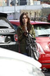 Lily Collins - Out in Los Angeles 1/10/2016