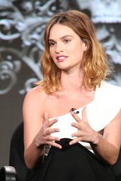 Lily James - A&E 2016 Winter TCA Panel in Pasadena