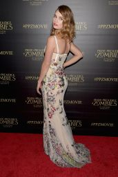Lily James – 'Pride and Prejudice and Zombies' Premiere at Harmony Gold Theatre in LA, January 2016