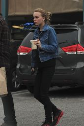 Lily-Rose Depp - Leaving Whole Foods in Los Angeles 1/19/2016