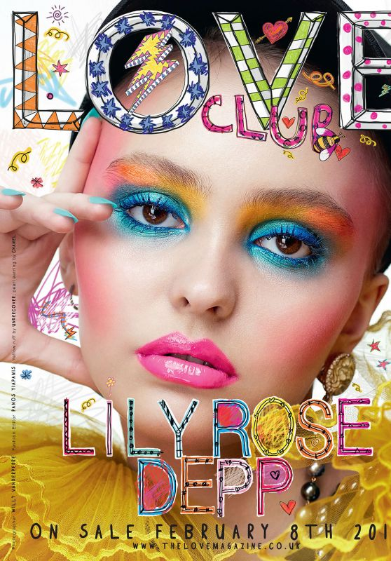 Lily-Rose Depp - LOVE Magazine Spring 2016 Cover