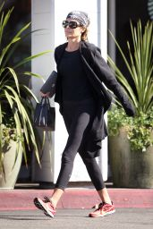 Lisa Rinna Looking Slim and Fit - Out in Los Angeles, January 2016