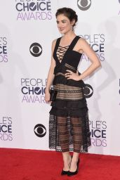 Lucy Hale – 2016 People's Choice Awards in Microsoft Theater in Los Angeles