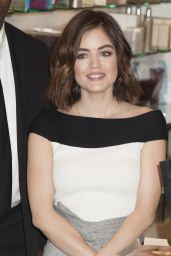 Lucy Hale - Blow-Pro Launch at Lord & Taylor in New York City 1/15/2016
