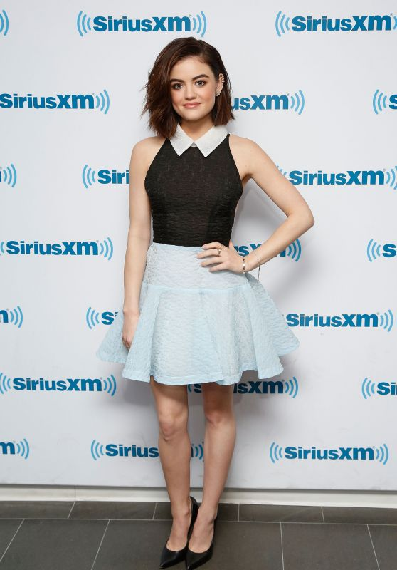 Lucy Hale - SiriusXM Studios in New York City, NY 1/11/2016