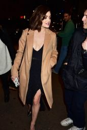 Lucy Hale Style - Out in NYC, January 2016
