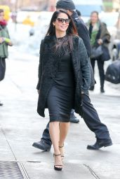 Lucy Liu Style - Out in New York City, January 2016