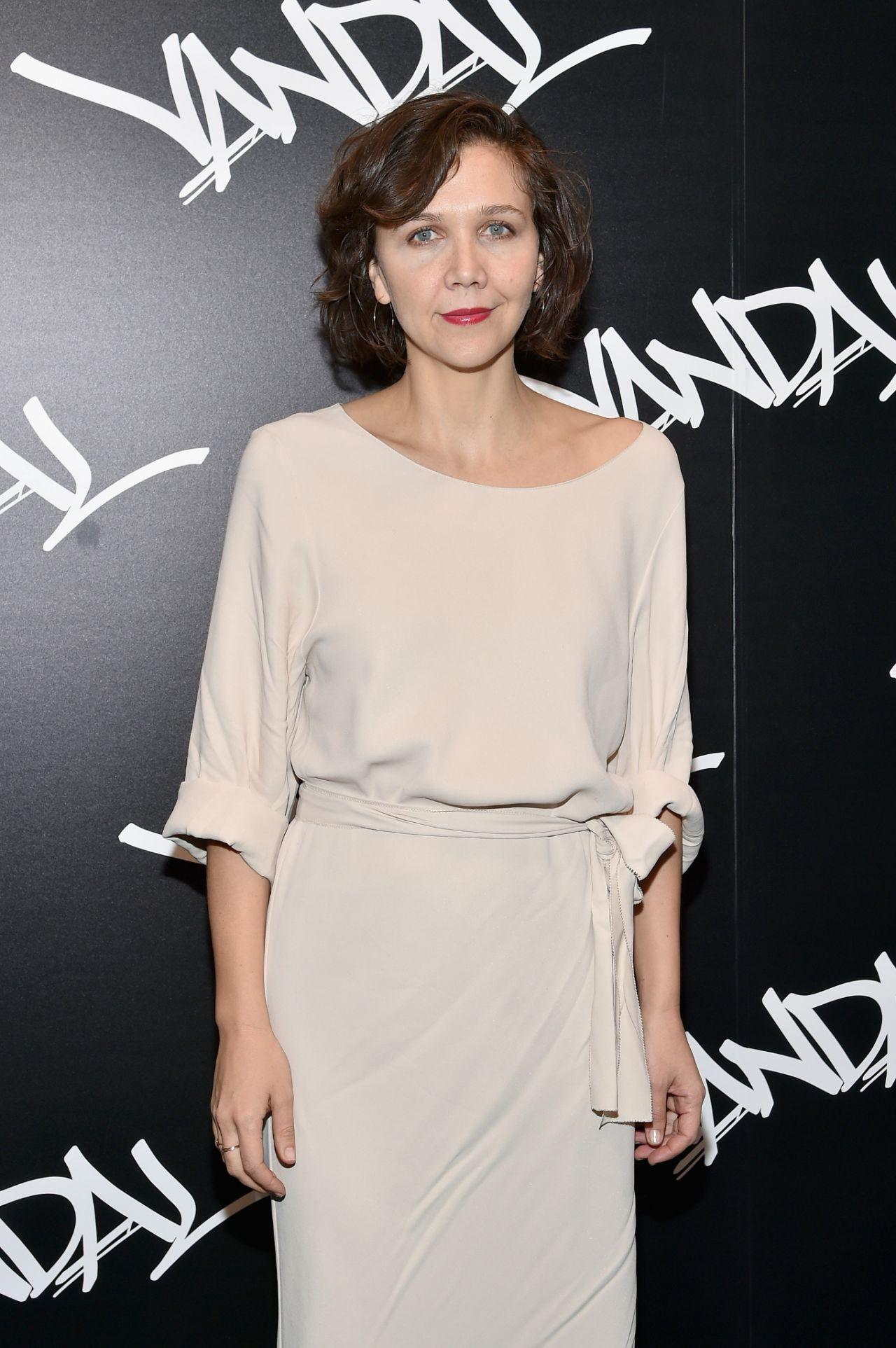 Maggie Gyllenhaal - VANDAL Grand Opening in New York City ... Maggie Gyllenhaal