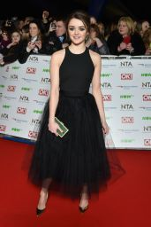 Maisie Williams - 2016 National Television Awards in London