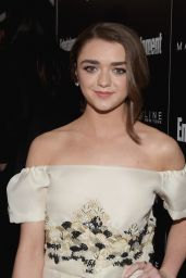 Maisie Williams – EW's Celebration Honoring The Screen Actors Guild in Los Angeles, January 2016