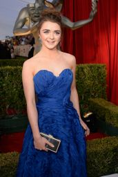 Maisie Williams – SAG Awards 2016 at Shrine Auditorium in Los Angeles