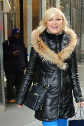 Malin Akerman Style - SiriusXMSstudios in New York City, NY 1/7/2016