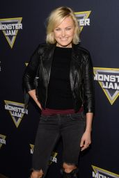Malin Akerman - The Monster Jam at Angel Stadium of Anaheim, January 2016