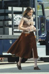 Mandy Moore - Untitlted Dan Fogelman Project Set Photos in Pasadena 1/29/2016