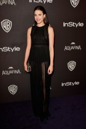 Margaret Qualley – InStyle And Warner Bros. 2016 Golden Globe Awards Post-Party in Beverly Hills