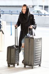 Margot Robbie at JFK Airport 01/14/16