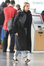 Margot Robbie at JFK Airport 01/14/16