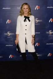 Maria Bello – 'The 5th Wave' Premiere in Los Angeles, CA