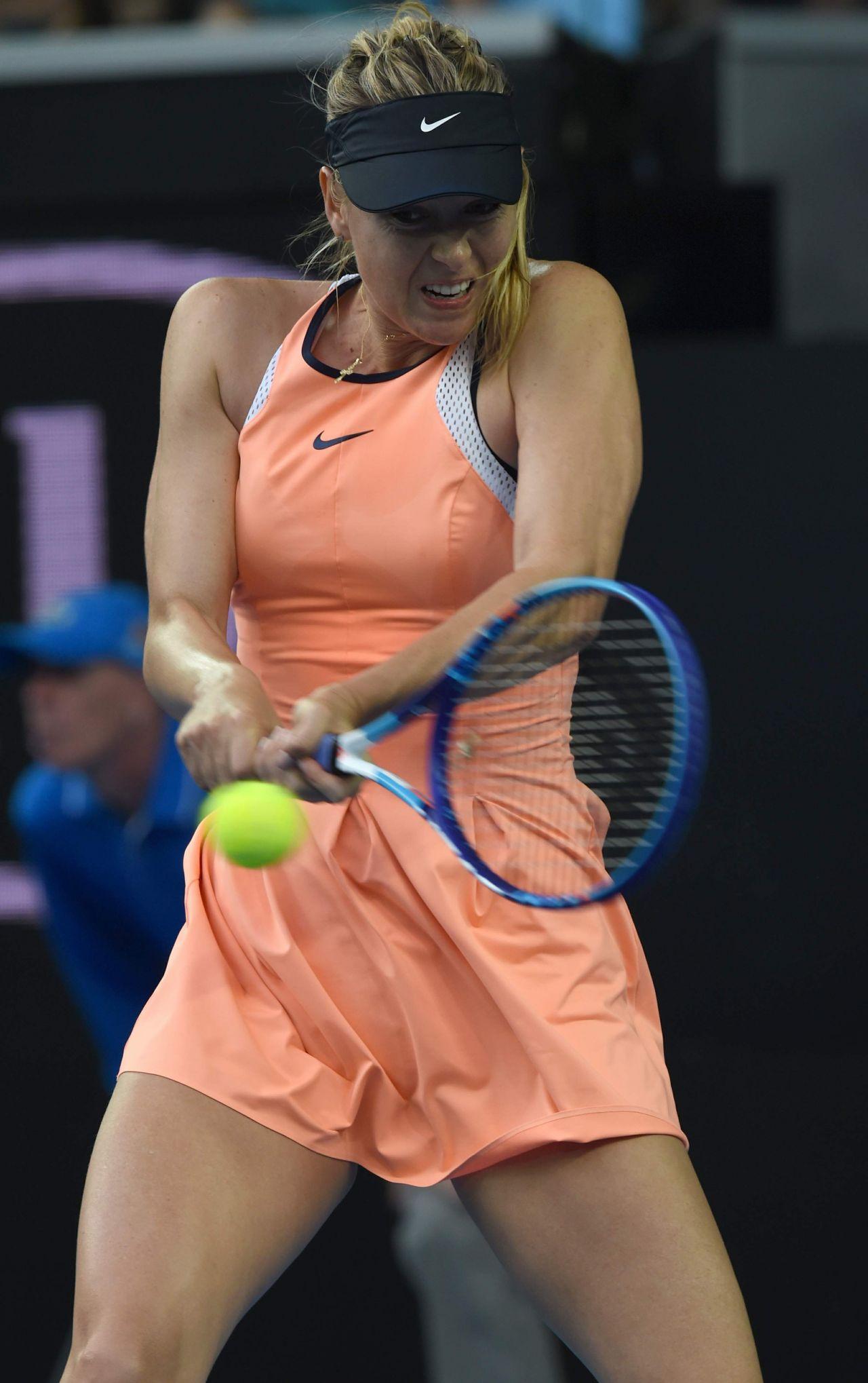 Maria Sharapova 2016 Australian Open In Melbourne 1 18 2016