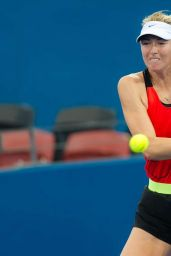 Maria Sharapova – Training in Brisbane Australia 1/2/2016