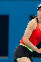 Maria Sharapova – Training in Brisbane Australia 1/2/2016
