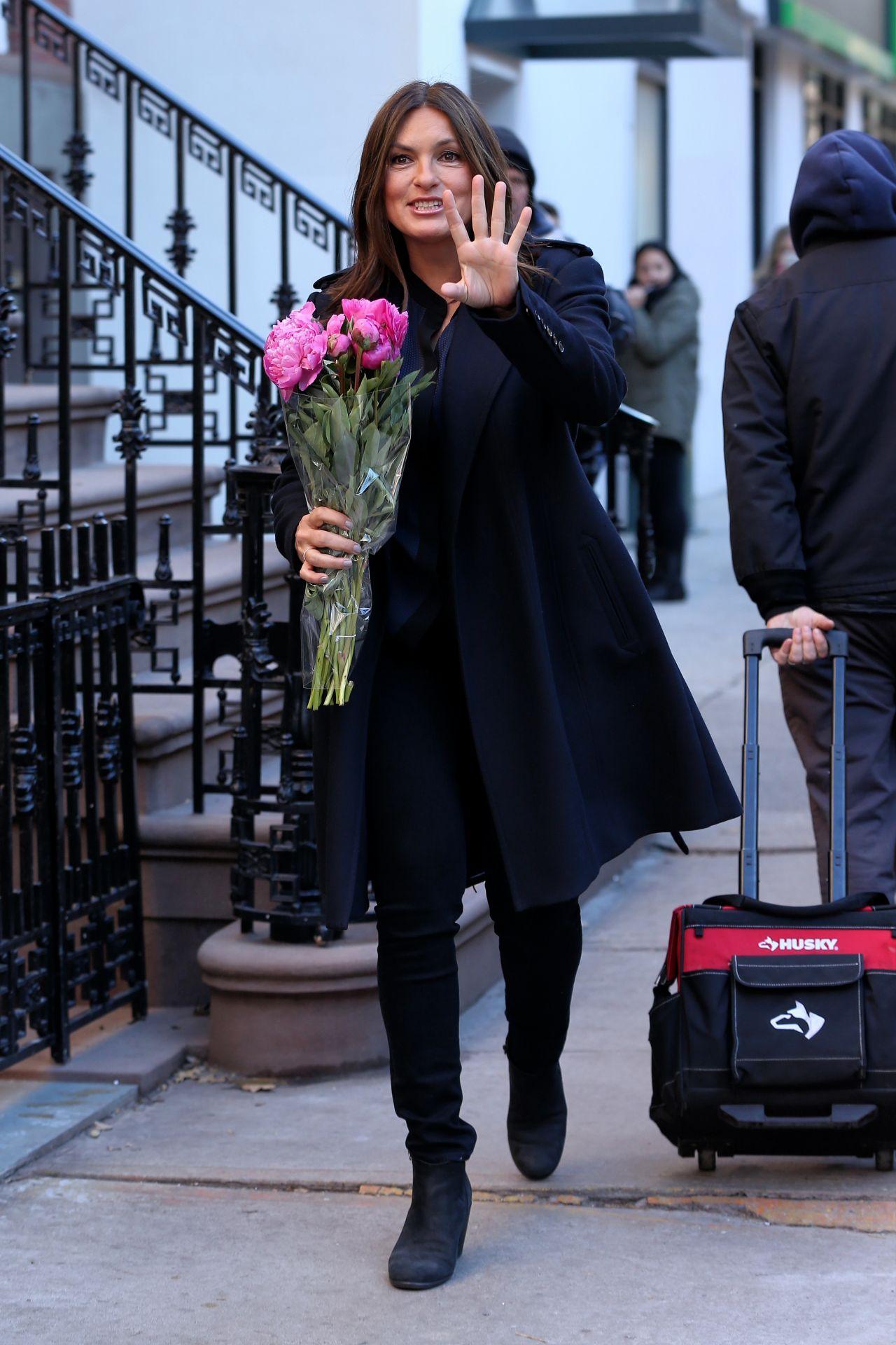 Mariska Hargitay Out In New York City 1 21 2016