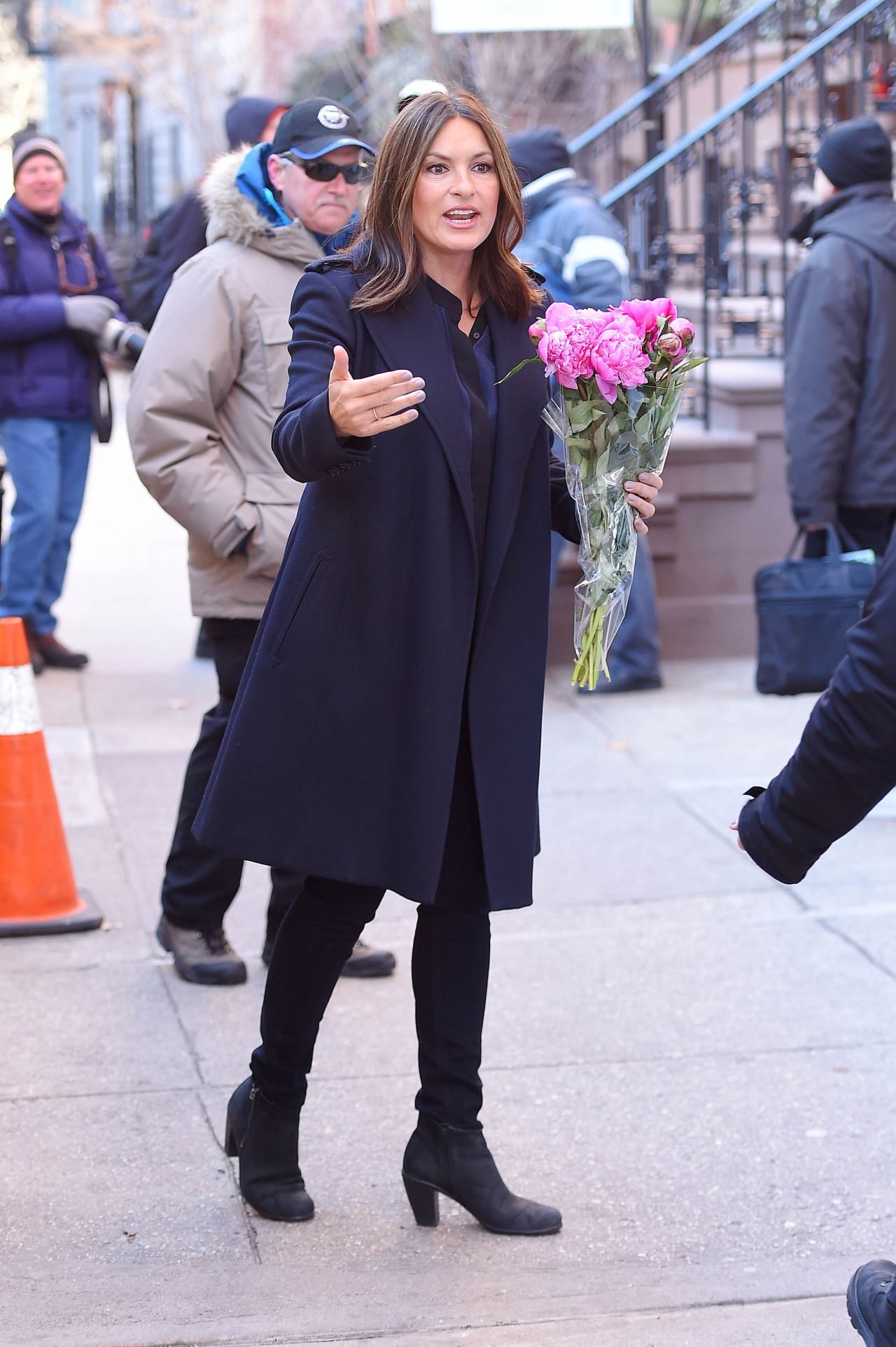 Mariska Hargitay Out In New York City 1 21 2016