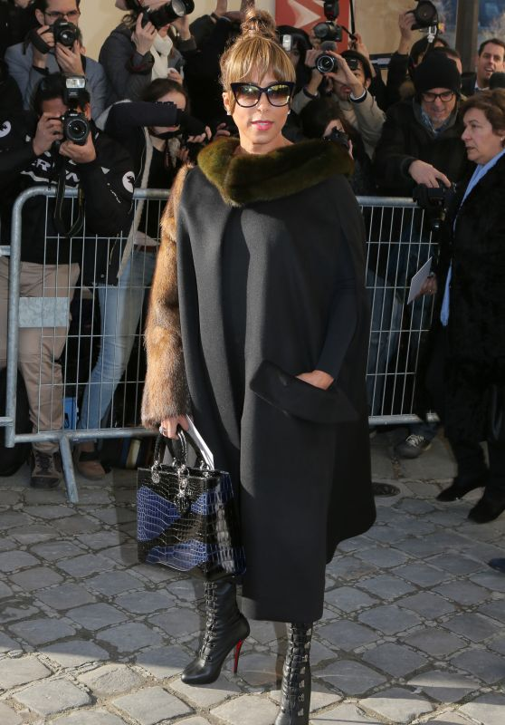 Marjorie Harvey – Arrivals at Haute Couture Fashion Show Christian Dior Spring-Summer 2016 in Paris
