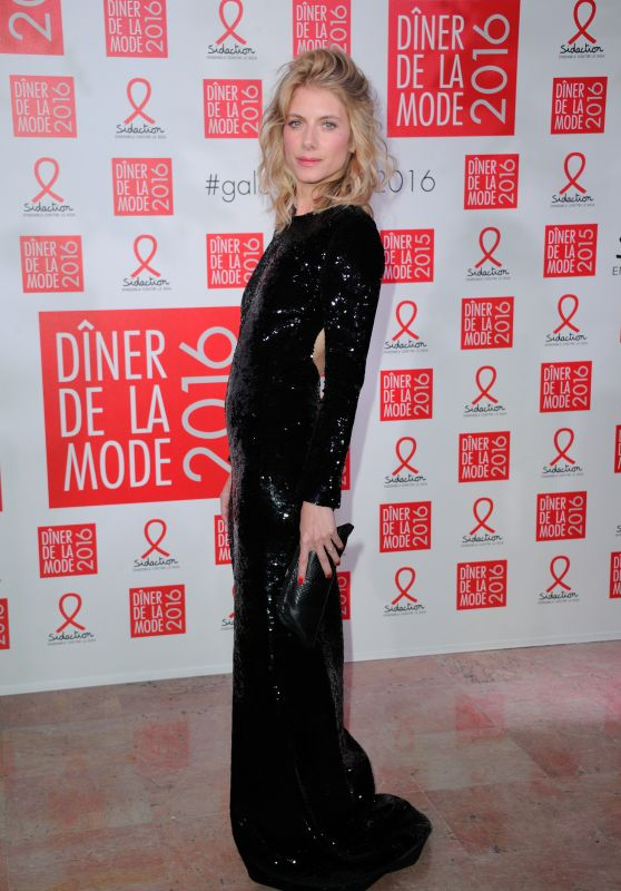 Melanie Laurent - Sidaction Gala Dinner 2016 in Paris