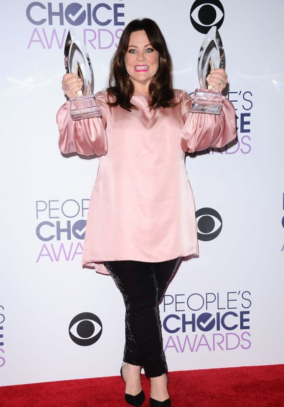 Melissa McCarthy – 2016 People's Choice Awards in Microsoft Theater in Los Angeles