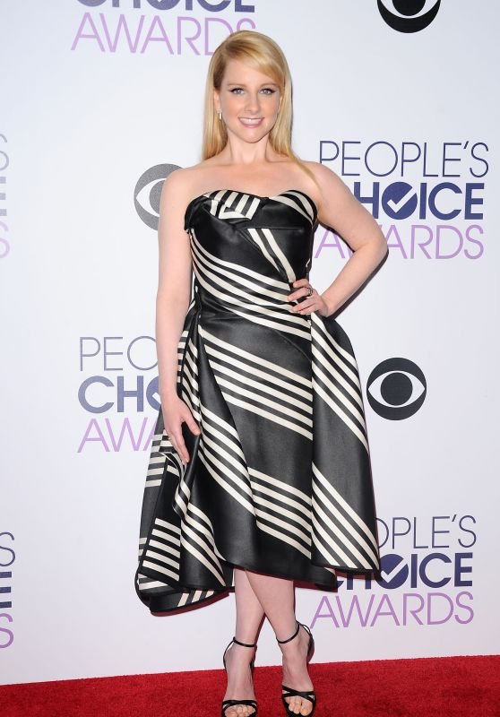 Melissa Rauch – 2016 People's Choice Awards in Microsoft Theater in Los Angeles