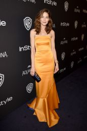 Michelle Monaghan – InStyle And Warner Bros. 2016 Golden Globe Awards Post-Party in Beverly Hills